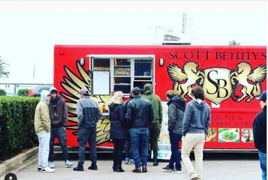 Scott Benny Offer of Food Truck to Federal Workers