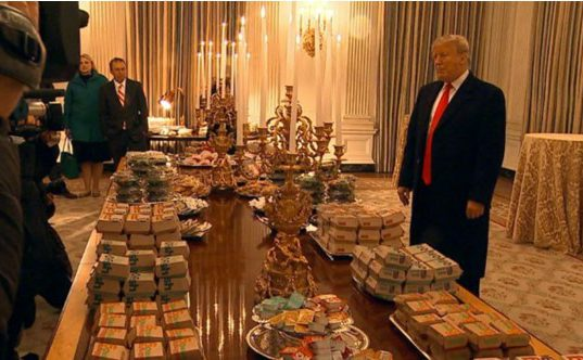 Trumps personal dinner invitation